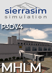 SIERRASIM SIMULATION - MHLM LA MESA INTERNATIONAL AIRPORT P3DV4