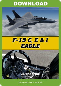 JUSTFLIGHT - DC DESIGNS F-15 C, D & I '鹰' P3D 64位版本