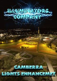 ILLUMINATORS - CAMBERRA (AUSTRALIA) NIGHT LIGHT ENHANCED MSFS