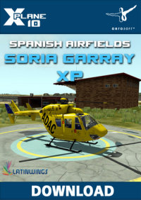 AEROSOFT - SPANISH AIRFIELDS SORIA GARRAY XP FOR X-PLANE 10