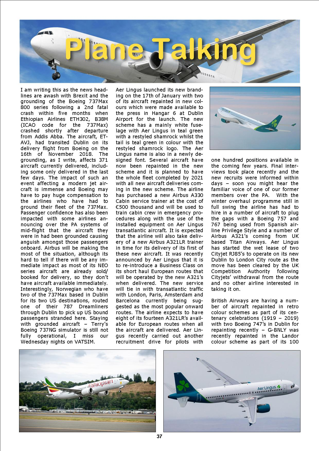 PC PILOTS IRELAND - PC FLIGHT MAGAZINE - MARCH 2019 ISSUE - FREE