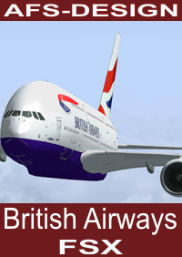 AFS-DESIGN - BRITISH AIRWAYS AIRBUS V2 FSX