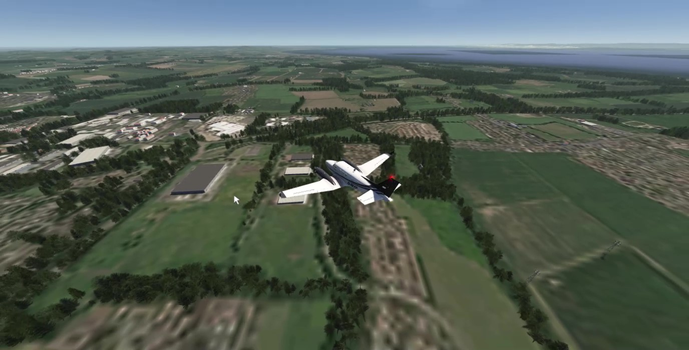 TABURET - AEROFLY FS2 - SCOTLAND MESH AND CULTIVATION
