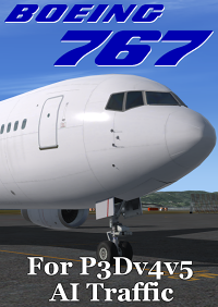 FSPXAI - BOEING B767 FOR P3DV4&V5 AI-TRAFFIC P3D