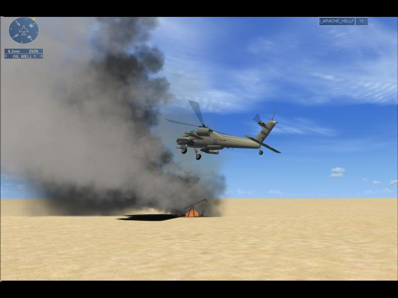 RDJ SIMULATION - FSX OPERATION APACHE