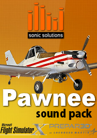 SONIC SOLUTIONS - PIPER PAWNEE BRAVE SOUNDPACK FSX P3D