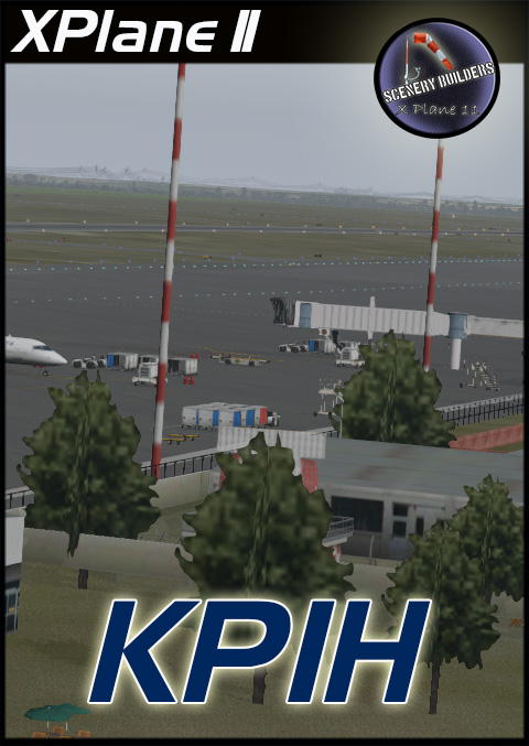 FSXCENERY -  KPIH  POCATELLO REGIONAL AIRPORT X-PLANE 11