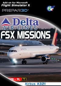 PERFECT FLIGHT - FSX MISSIONS – A321 DELTA AIRLINES FSX/P3D
