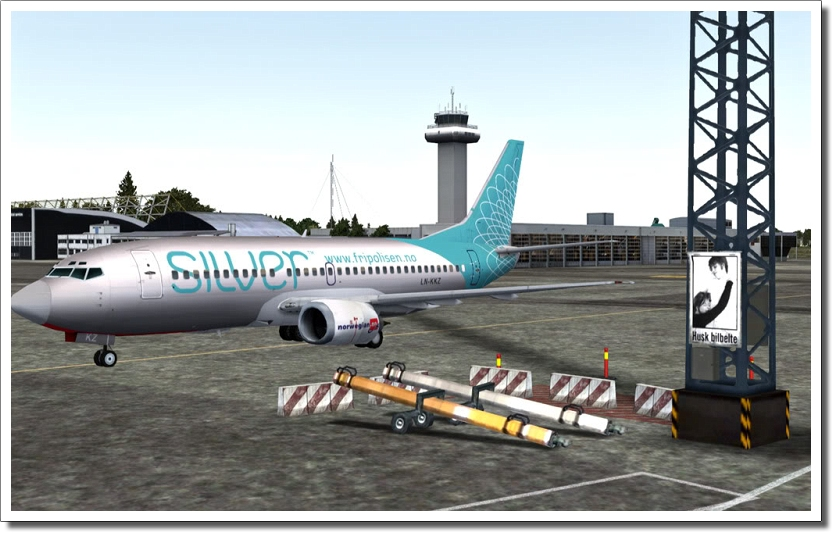 AEROSOFT - STAVANGER X FSX P3D (DOWNLOAD)