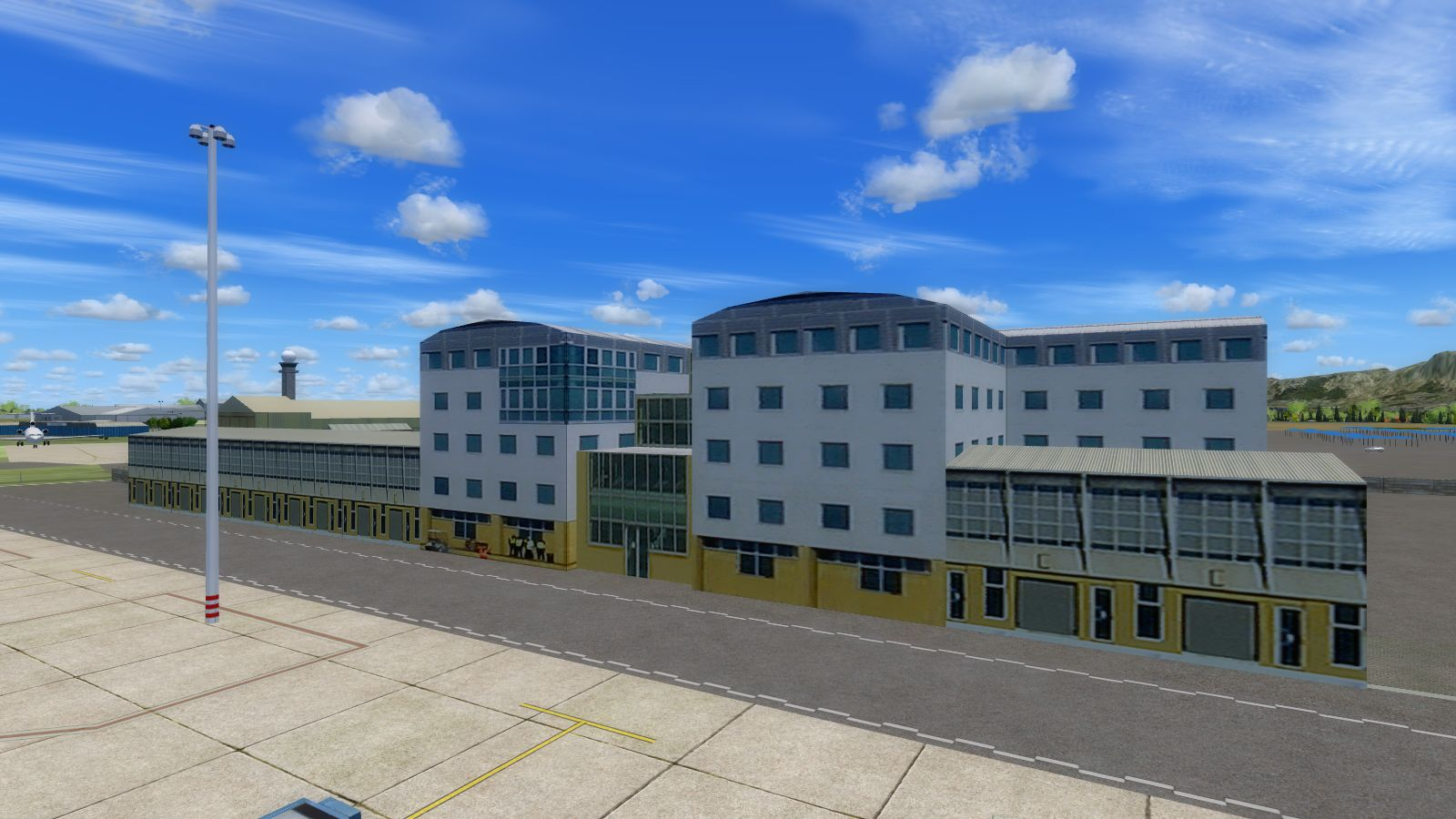 NMG SIMULATIONS - CAPE TOWN INTERNATIONAL AIRPORT P3D4