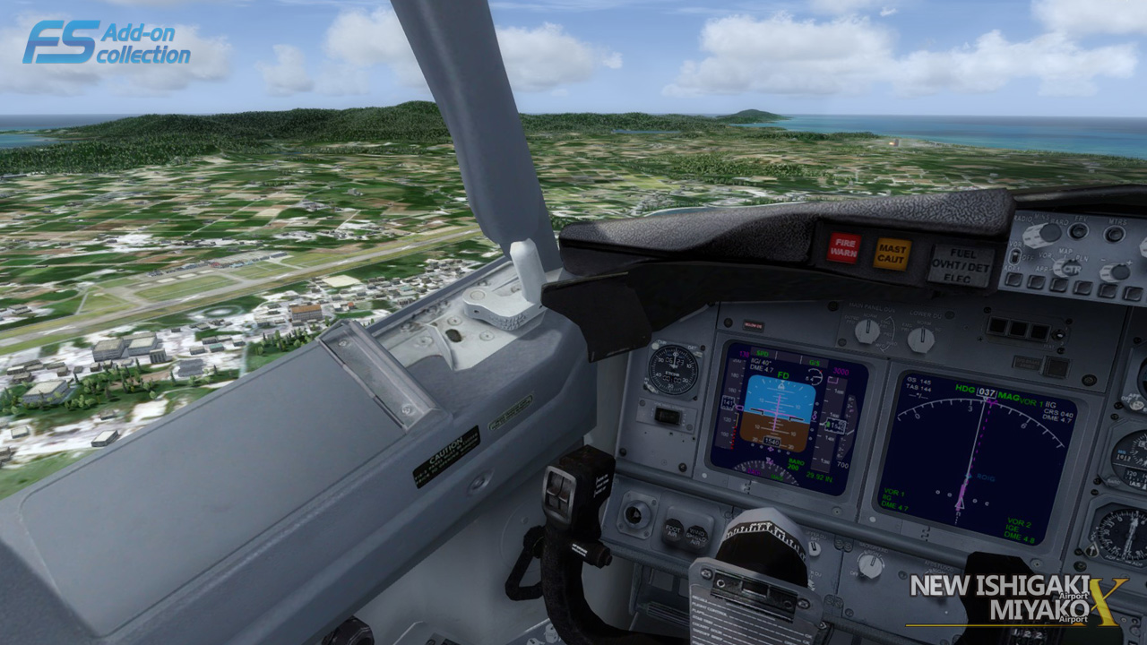 TECHNOBRAIN - FS ADD-ON COLLECTION NEW ISHIGAKI AIRPORT/MIYAKO AIRPORT FSX P3D