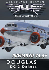 AEROPLANE HEAVEN - 道格拉斯 DC-3 DAKOTA P3D4.4+