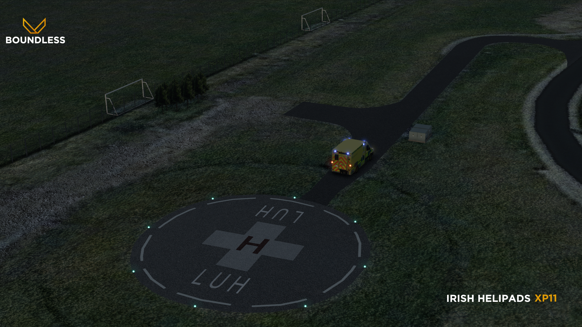 BOUNDLESS - IRISH HELIPADS X-PLANE 11