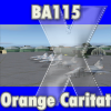 "SKYDESIGNERS - BA 115 ORANGE CARITAT ""CAPITAINE DE SEYNES"""