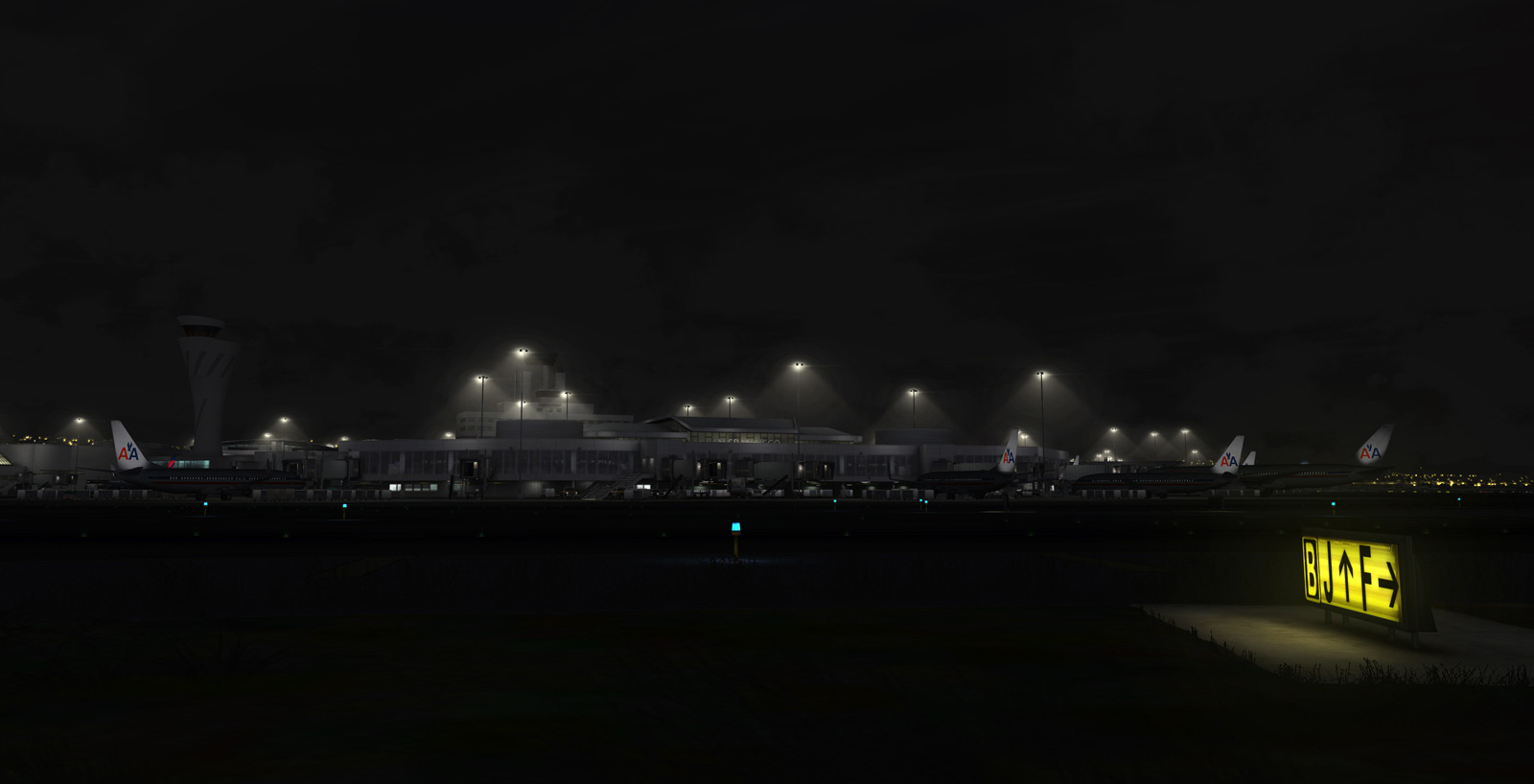 FLIGHTBEAM STUDIOS - KSFO - SAN FRANCISCO INTERNATIONAL AIRPORT FSX P3D