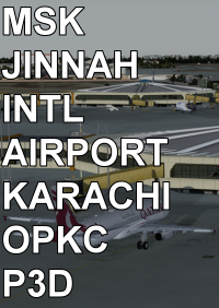 MSK - JINNAH INTERNATIONAL AIRPORT KARACHI OPKC P3D