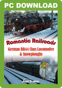 JUSTTRAINS - ROMANTIC RAILROADS GERMAN BR44 CLASS & SNOWPLOUGHS