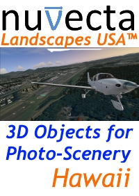 NUVECTA - LANDSCAPES USA™ HAWAII FSX P3D
