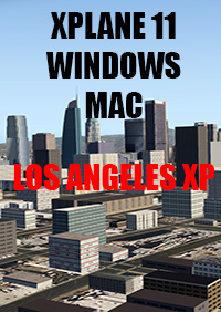 TABURET - XPLANE 11 - LOS ANGELES XP