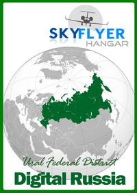 SKY FLYER HANGAR - DIGITAL RUSSIA URAL FEDERAL DISTRICT P3D4 P3D5