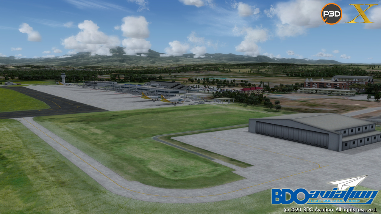 BDOAVIATION - DAVAO INTERNATIONAL AIRPORT FSX P3D4-5