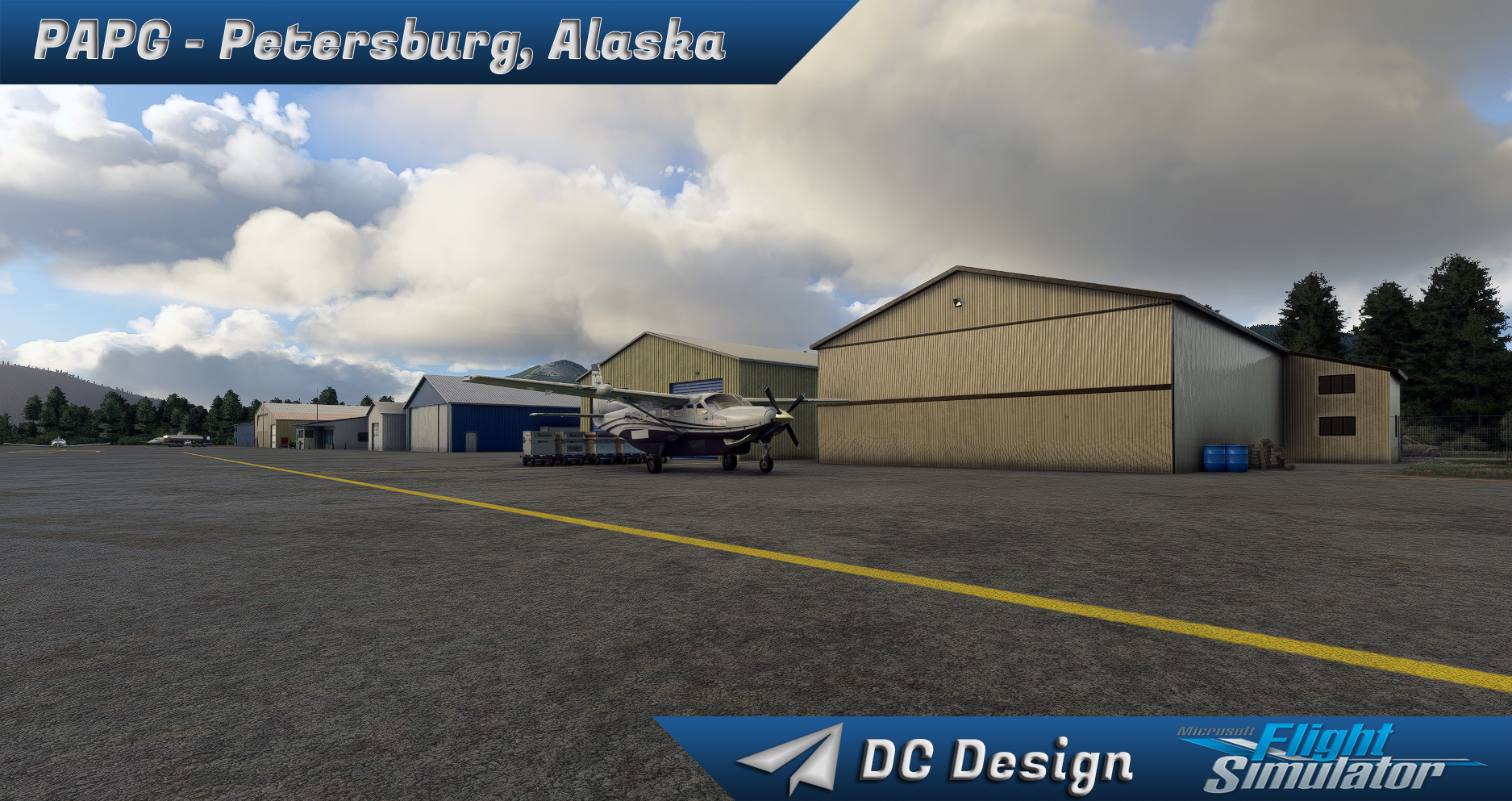 DC SCENERY DESIGN - PAPG - PETERSBURG JAMES A. JOHNSON AIRPORT, ALASKA - MSFS