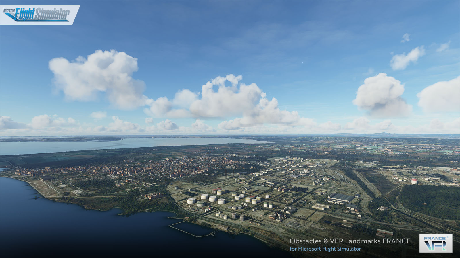 FRANCE VFR - OBSTACLES & REPERES VFR FRANCE V4 MSFS