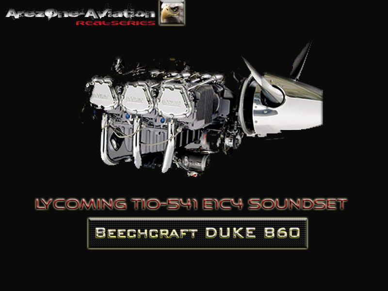 AREZONE - BEECHCRAFT DUKE B60  SOUNDSET