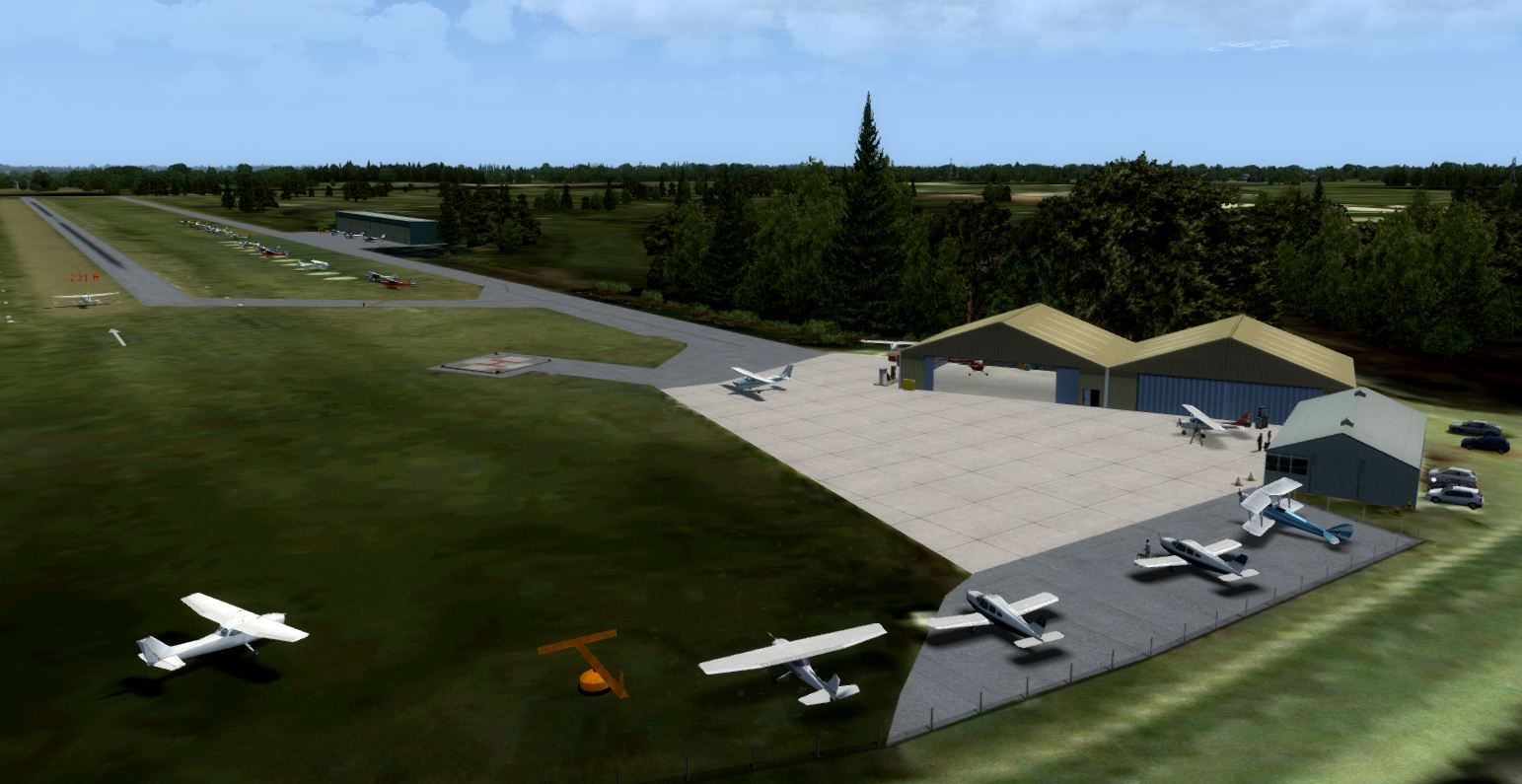 UK2000 VFR AIRFIELDS VOLUME 2 V2 FSX P3D