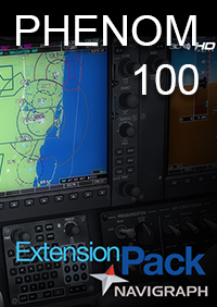 CARENADO - NAVIGRAPH E50P PHENOM 100  EXTENSION PACK FSX P3D