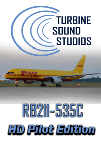 TURBINE SOUND STUDIOS - BOEING 757 RB211-535C PILOT EDITION HD SOUNDPACK FOR FS2004