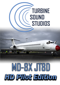 TURBINE SOUND STUDIOS - MD-8X JT8D PILOT EDITION SOUNDPACK FSX P3D