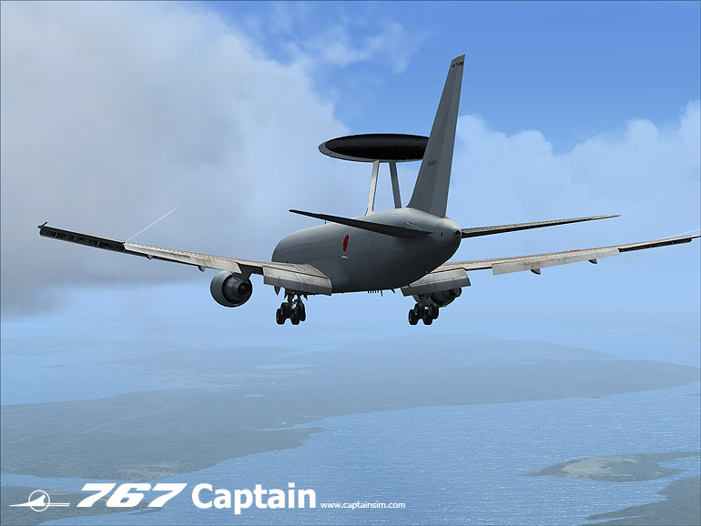 CAPTAIN SIM - E-767 AWACS EXPANSION MODEL - FSX