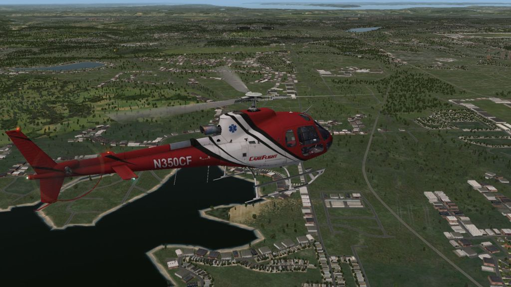 NEMETH DESIGNS & DREAMFOIL CREATIONS - AEROSPATIALE AS350B+ ECUREUIL X-PLANE