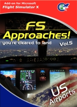 PERFECT FLIGHT - FS APPROACHES VOL.5 US AIRPORTS