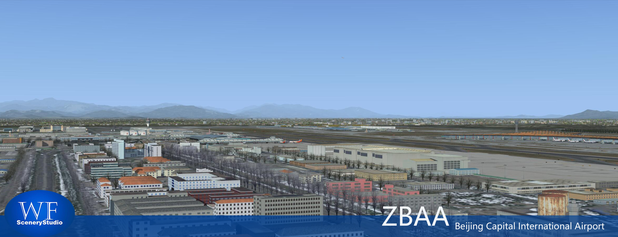 WF SCENERY STUDIO - BEIJING CAPITAL INTERNATIONAL AIRPORT ZBAA FSX P3D