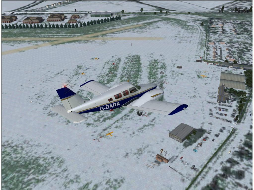 JUSTFLIGHT - REAL SCENERY AIRFIELDS WHITE WALTHAM