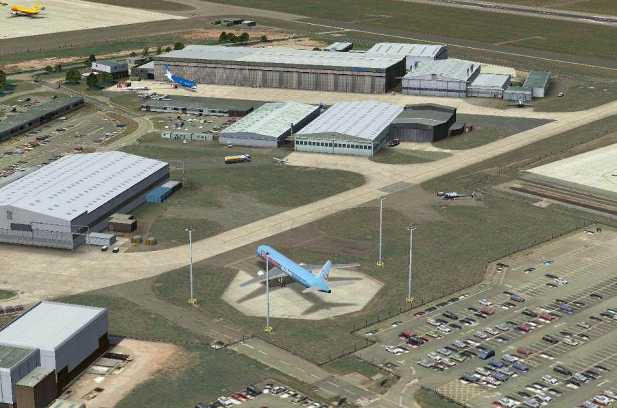 UK2000 SCENERY - EAST MIDLANDS XTREME EGNX FSX P3D