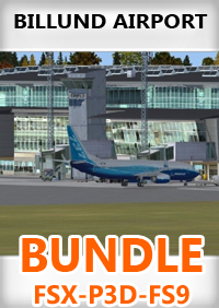 AERO FILES - BILLUND AIRPORT BUNDLE