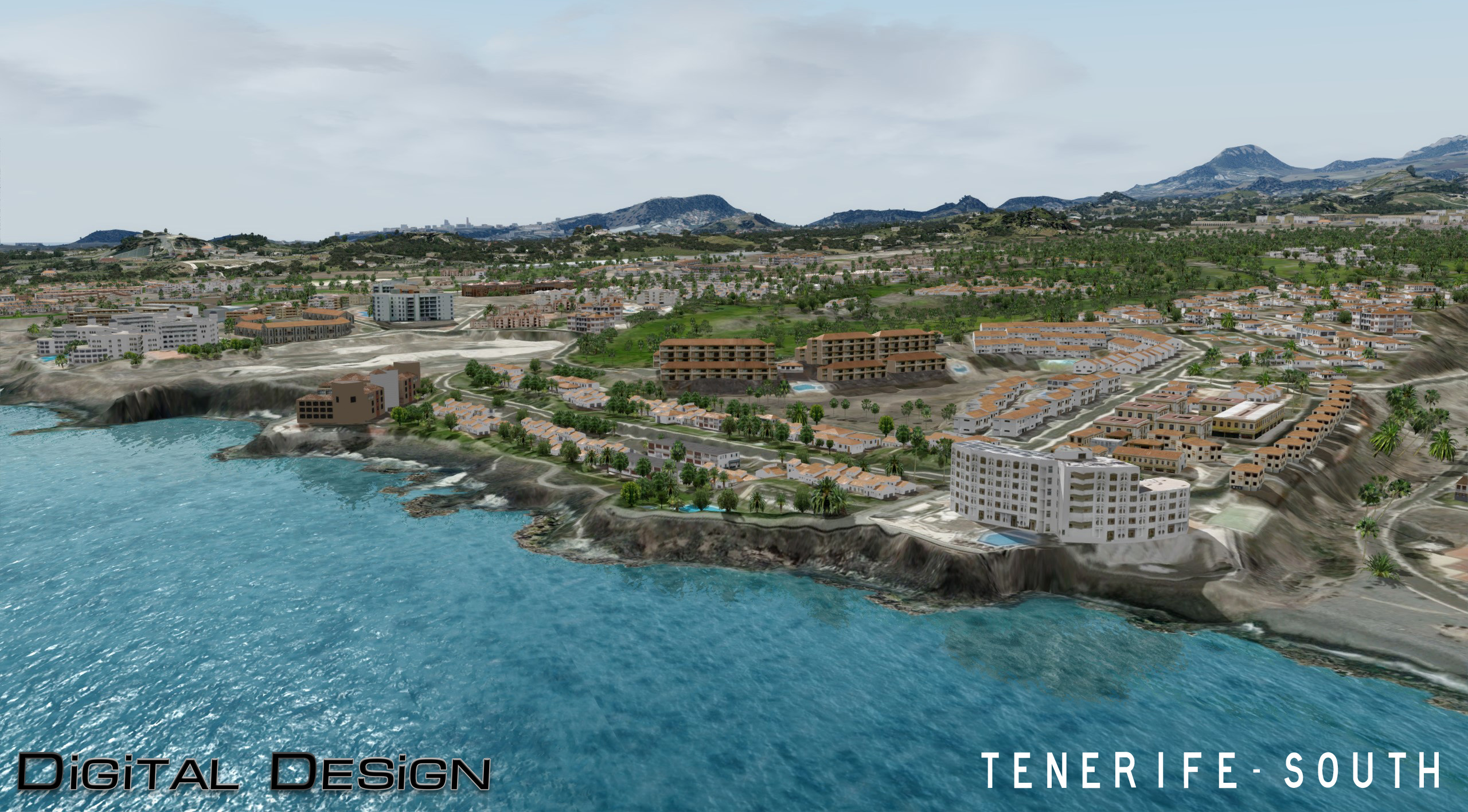 DIGITAL DESIGN - TENERIFE-SOUTH P3D4