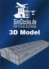 SIMDOCKS.DE - ALUMINIUM HALL 30X10 M