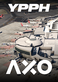 AXONOS - YPPH PERTH INTERNATIONAL AIRPORT X-PLANE 11
