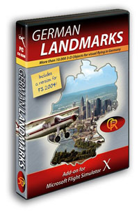 AEROSOFT - GERMAN LANDMARKS X (DOWNLOAD)