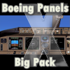 NPSIMPANELS - BOEING PANELS BIG PACK