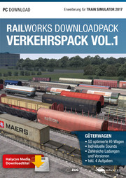 HALYCON - RAILWORKS DOWNLOADPACK – VERKEHRSPACK VOL. 1 – GÜTERWAGEN