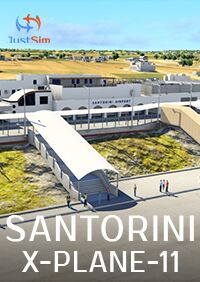 JUSTSIM - SANTORINI INTERNATIONAL AIRPORT X-PLANE-11