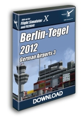 AEROSOFT - GERMAN AIRPORTS 3 2012 - BERLIN TEGEL X (DOWNLOAD)