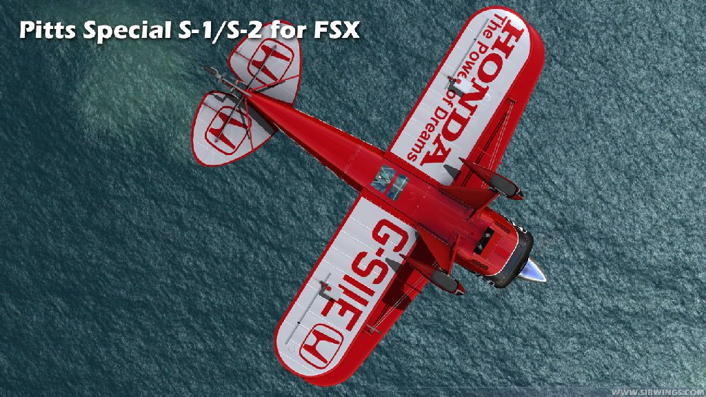 SIBWINGS - PITTS SPECIAL S1/S2