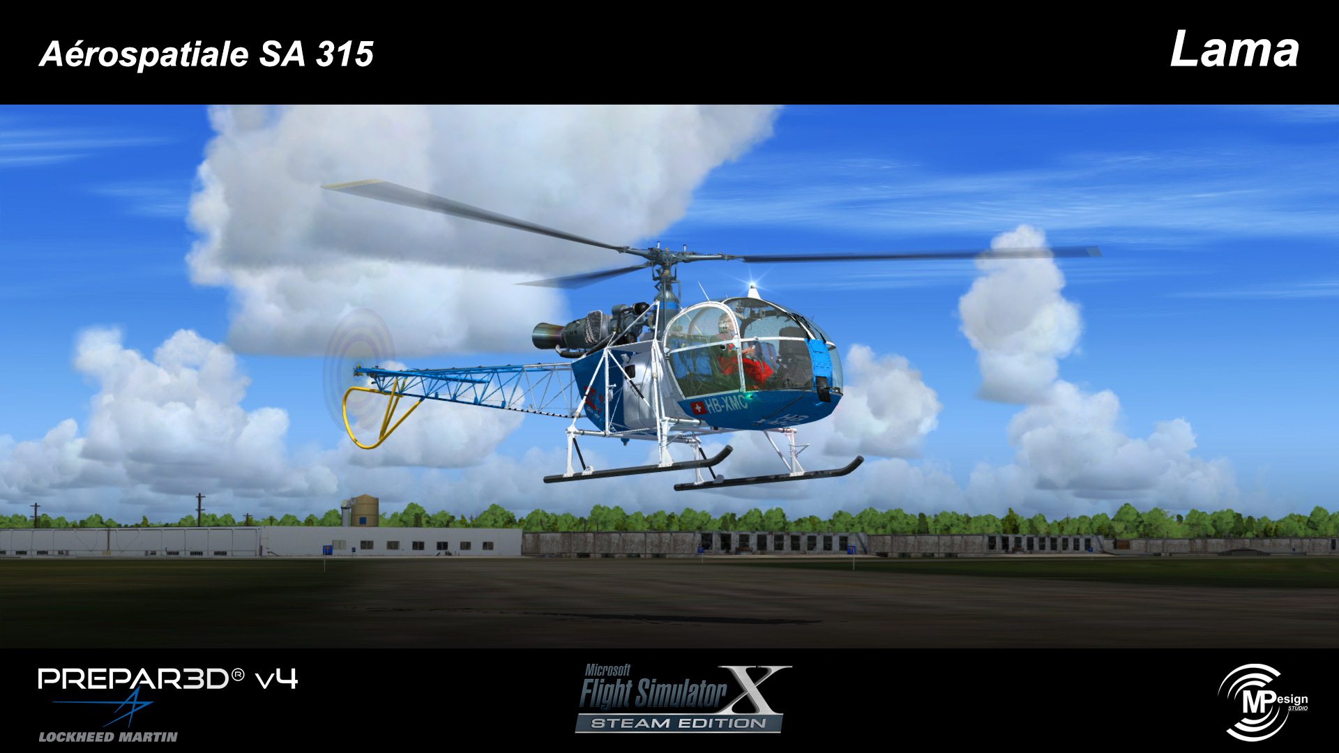 MP DESIGN STUDIO - AEROSPATIALE SA315 LAMA P3D