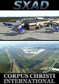 SXAIRPORTDESIGN - CORPUS CHRISTI INTERNATIONAL AIRPORT FSX P3D